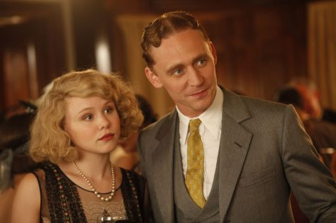 Midnight In Paris (2011 Woody Allen) Allison Pill and Tom Hiddleston as The Fitzgeralds