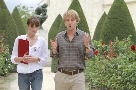 Midnight In Paris (2011 Woody Allen) Carla Bruni and Owen Wilson