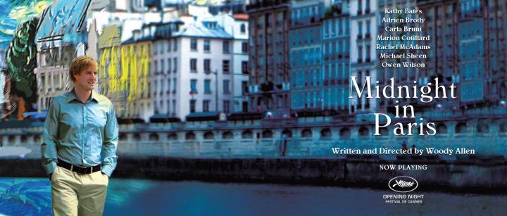 Midnight In Paris (2011 Woody Allen) Owen Wilson