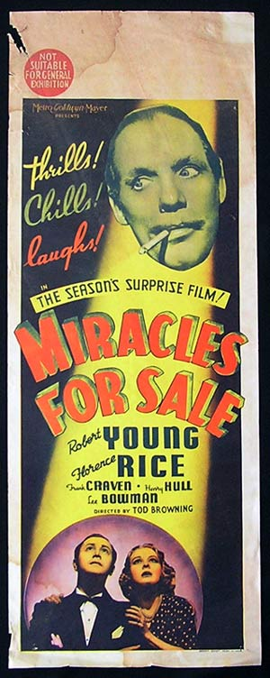 Miracles For Sale (Tod Browning)