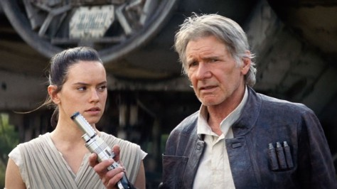 Star Wars-THE FORCE AWAKENS (2015 Abrams) Daisy Ridley, Harrison Ford