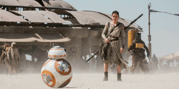 Star Wars-THE FORCE AWAKENS (2015 Abrams) Daisy Ridley