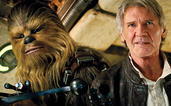 Star Wars-THE FORCE AWAKENS (2015 Abrams) Harrison Ford