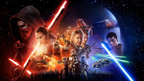 Star Wars-THE FORCE AWAKENS (2015 Abrams) theatrical art