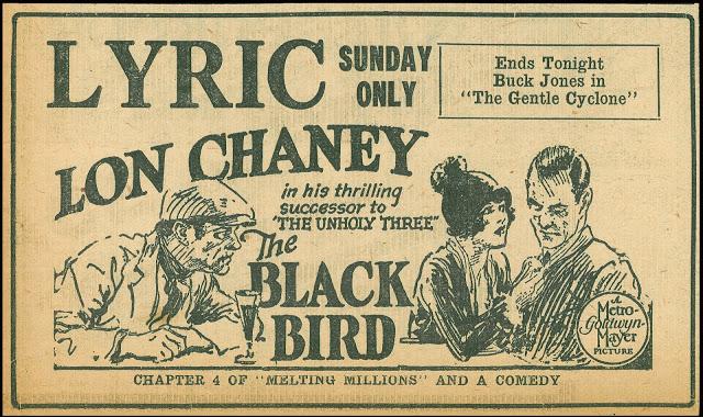 The Black Bird (Tod Browning)