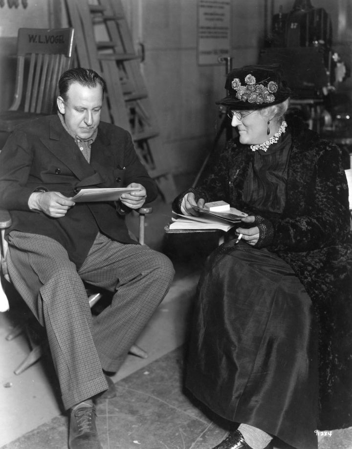 The Devil Doll (1936 Tod Browning) Browning with Lionel Barrymore