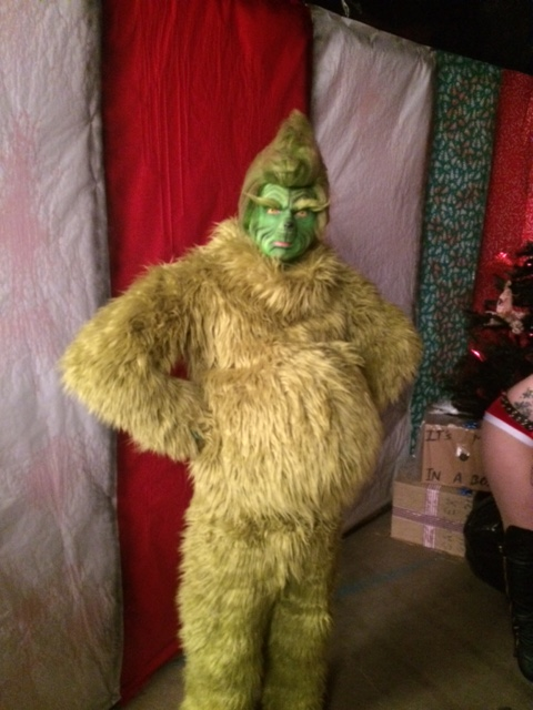 The Mean One, Mr. Grinch (Troy Carpenter) @ The House Of Shadows In Gresham © 2015 Alfred Eaker