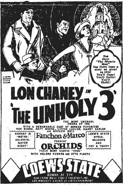 The Unholy Three (Tod Browning)