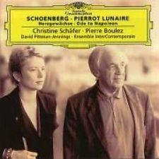 Pierrot Lunaire Pierre Boulez Christine Schafer