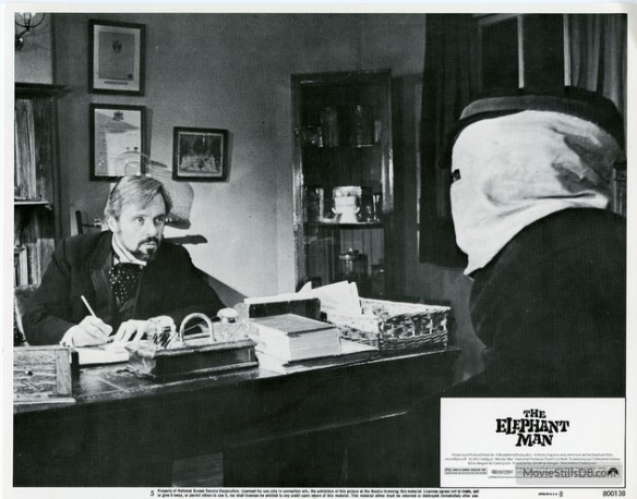 The Elephant Man (1980) David Lynch. Lobby card
