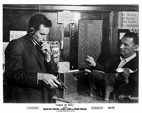 Touch Of Evil (Orson Welles) 1958 lobby card