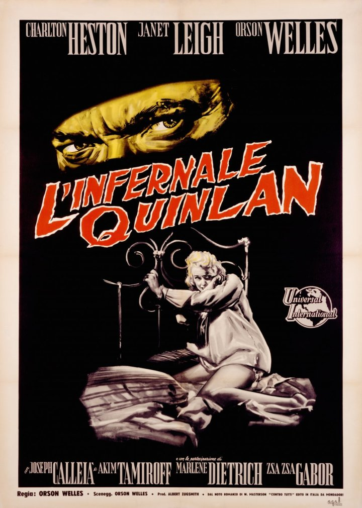Touch Of Evil (Orson Welles) 1958 poster