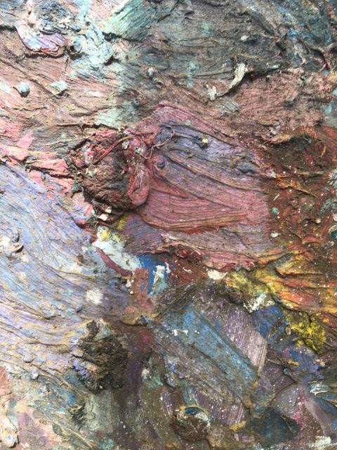 Alfred Eaker retired palette
