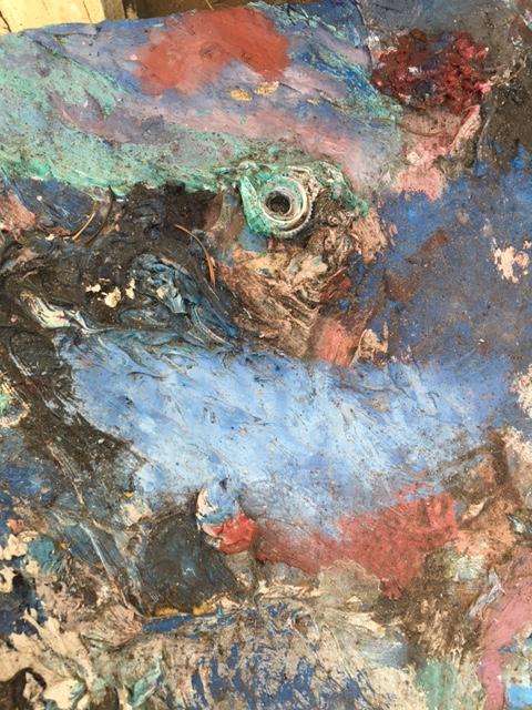 Alfred Eaker retired palette2