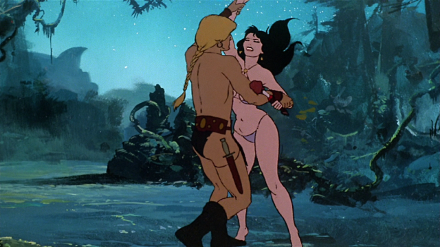 FIRE AND ICE (Ralph Bakshi)