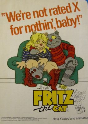 Fritz The Cat (Ralph Bakshi)