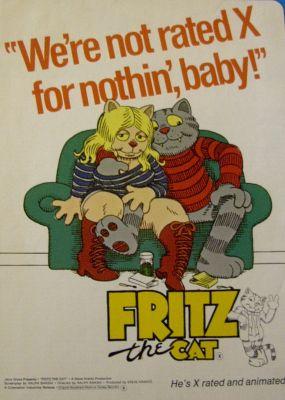 Fritz The Cat (Ralph Bakshi)