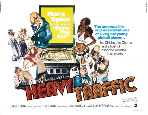HEAVY TRAFFIC (Ralph Bakshi)