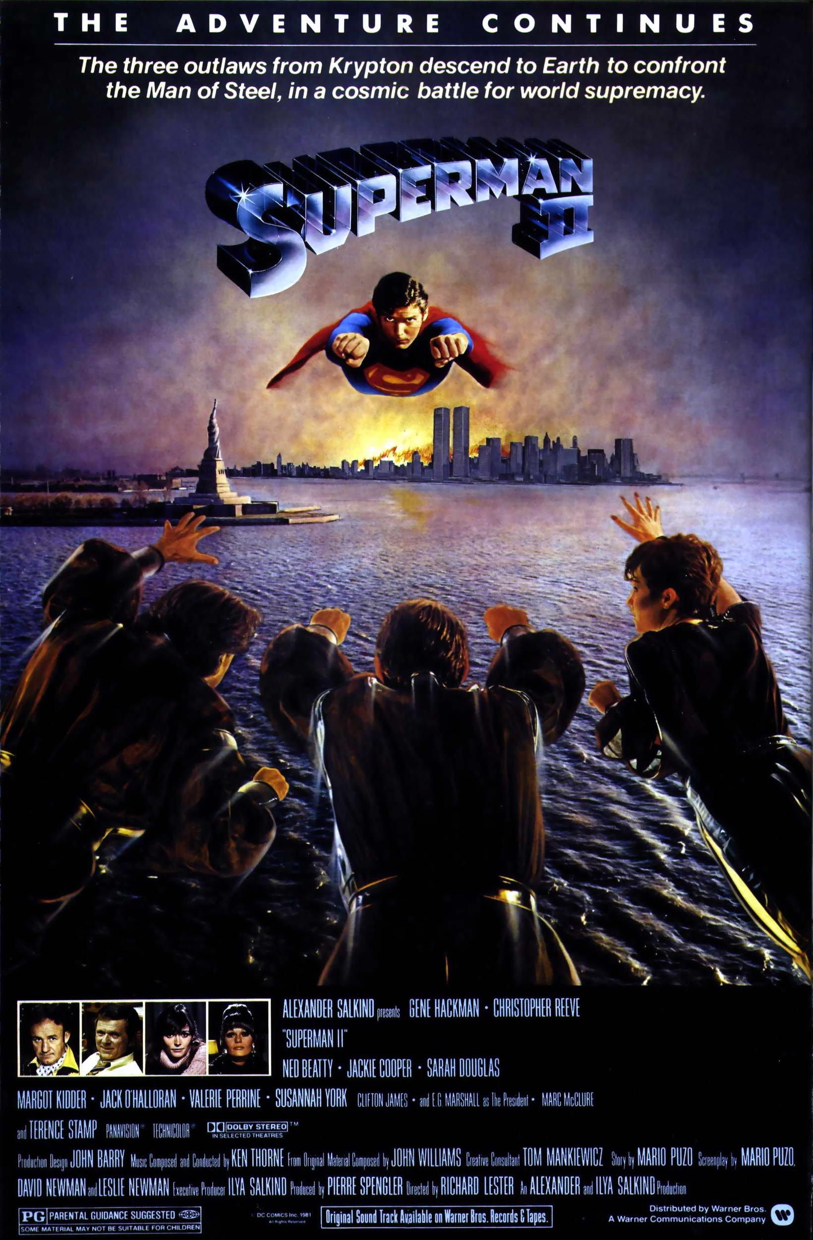 SUPERMAN II (1980, RICHARD LESTER)