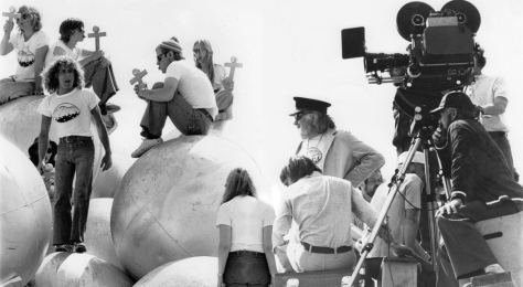 Ken Russell directing Tommy