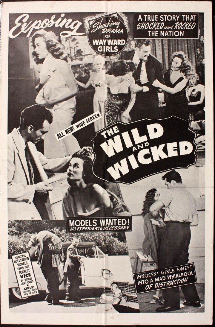 The Flesh Merchant (aka The Wild And The Wicked dir. W. Merle Connell) 1956