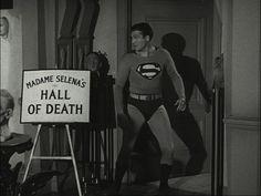 ADVENTURES OF SUPERMAN MYSTERY IN WAX GEORGE REEVES