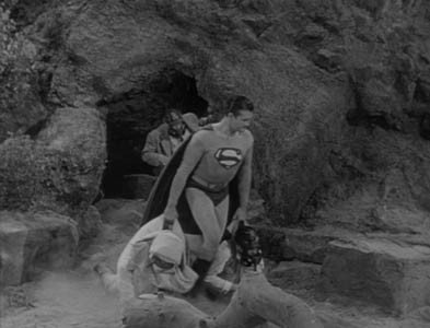 ADVENTURES OF SUPERMAN THE DESERTED VILLAGE GEORGE REEVES