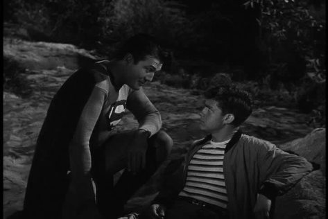 ADVENTURES OF SUPERMAN THE HAUNTED LIGHTHOUSE GEORGE REEVES JACK LARSON