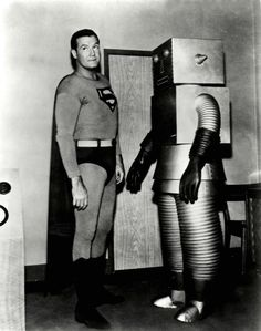ADVENTURES OF SUPERMAN THE RUNAWAY ROBOT GEORGE REEVES