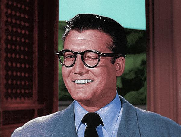 Clark Kent wink