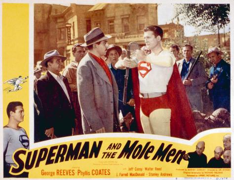 SUPERMAN AND THE MOLE MEN GEORGE REEVES