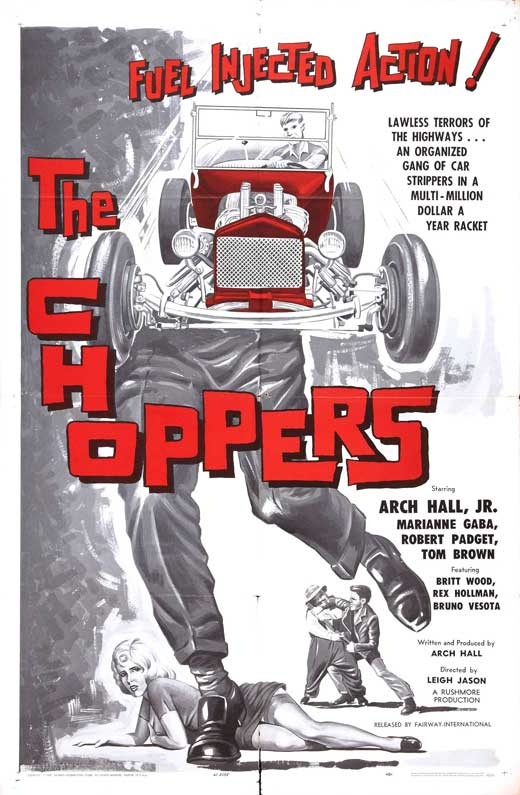 The Choppers (1961) Arch Hall, JR