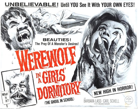 Werewolf In A Girl's Dormitory (1961)