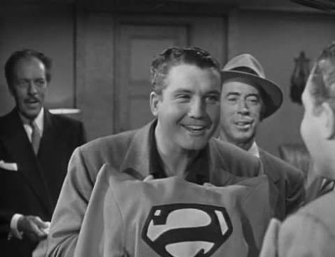 %22The Face And The Voice%22 George Reeves