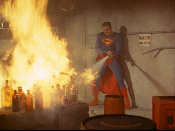 Adventures of Superman fireman Reeves
