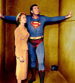 ADVENTURES OF SUPERMAN GEORGE REEVES NOEL NEILL