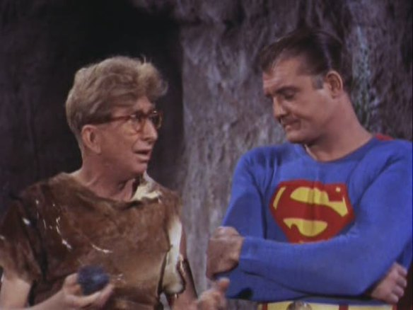 Adventures Of Superman Through The Time Barrier George Reeves, Sterling Holloway
