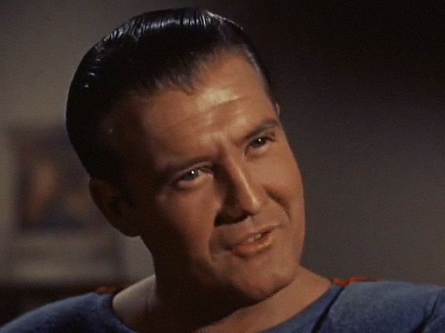 GEORGE REEVES %22THE ADVENTURES OF SUPERMAN%22 %22THREE IN ONE EPISODE%22 1958 (LEW LANDERS)