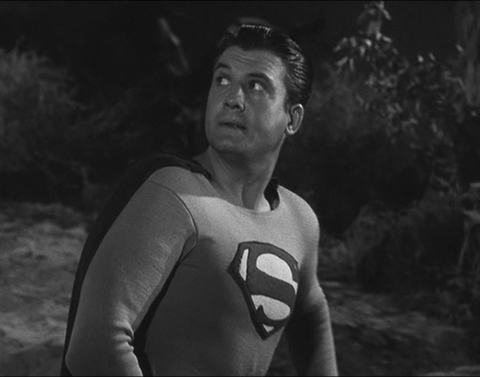 George Reeves as Tv's first Superman