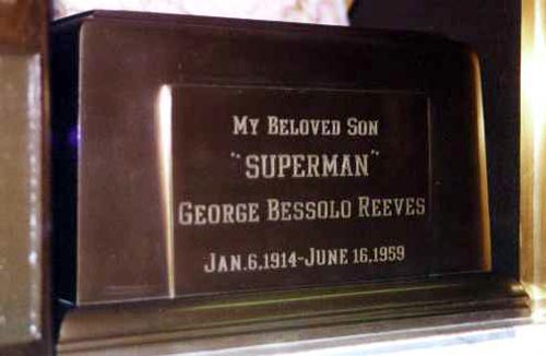 GEORGE REEVES TOMB