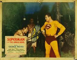 Jungle Devil lobby card The Adventures Of Superman