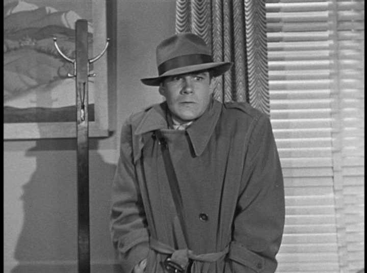 Semi-private Eye Jim Olson with Jack Larson