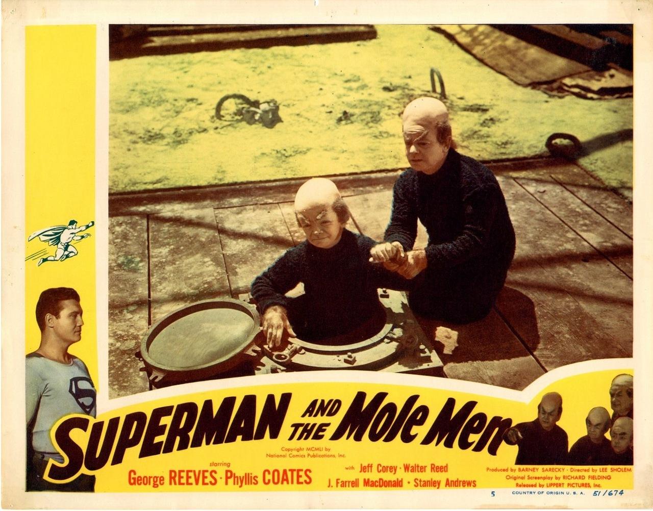 Suerman and the Mole Men lobby card