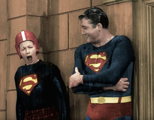 SUPERMAN and LUCY