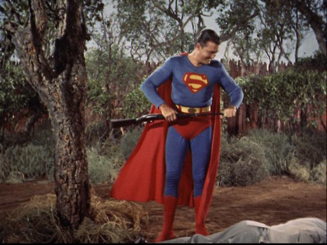 Superman gun control