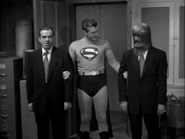The Adventures Of Superman Man In The Lead Mask George Reeves