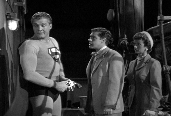 The Adventures Of Superman The Golden Vulture George Reeves, Jack Larson & Noel Neill