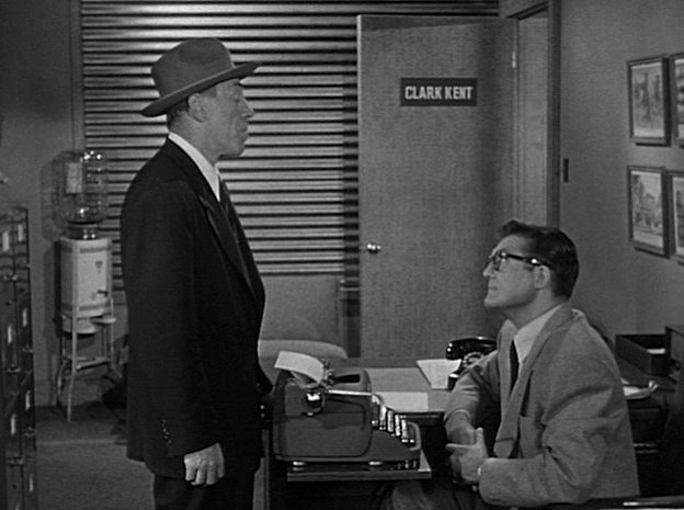 The Machine That Could Plot Crimes starring george reeves (Superman)
