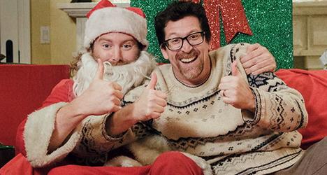 Kirk Cameron Saving Christmas.Stocking Coal Kirk Cameron S Saving Christmas 2014 The