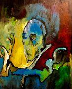 Pierre Boulez Mural ©2018 Alfred Eaker